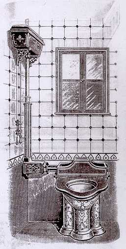 image of a victorian toilet
